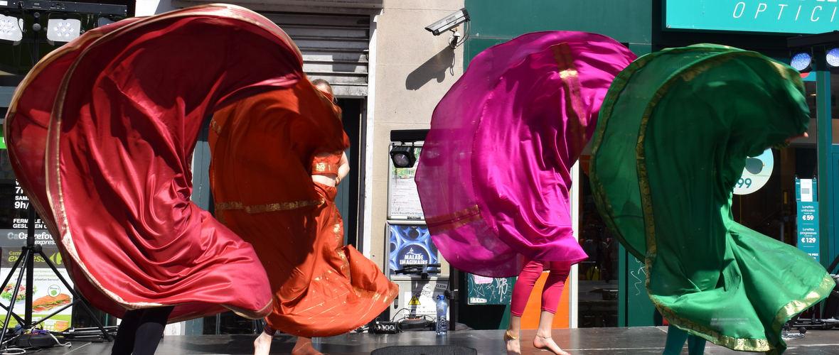 25/06 : Show Bollywood - Braderie Porte de Namur