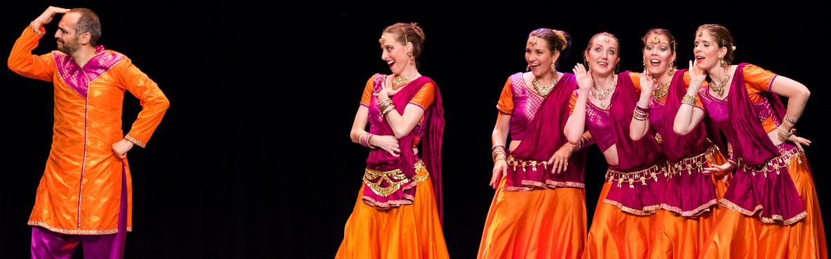Spectacles et démos de danse indienne