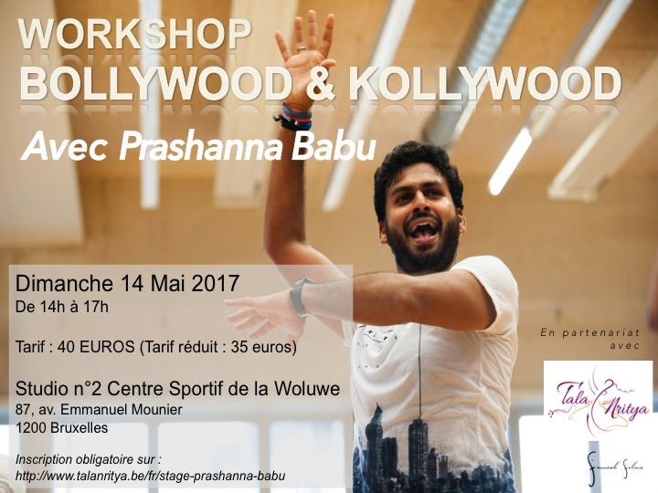 Stage Bollywood & Kollywood Bruxelles Prashanna Babu