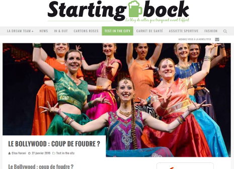 Bollywood Bruxelles danse indienne - Starting Bock